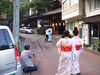 中嶋旅館前